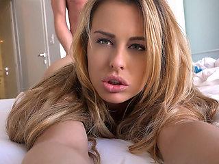 Corinna Blake in Corinna's Milk Jugs - IKnowThatGirl