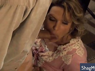Stacked Blonde Milf Works Her Aching Pussy On A Hard Shaft Video
