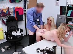 Natalie Knight And Mom Get Fucked For Stealing
