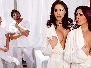 Chanel Preston & Monique Alexander & Tommy Gunn & Xander Corvus in Lets Get Facials - Brazzers