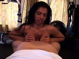 Bodacious amateur Latina takes a cock for a ride POV style