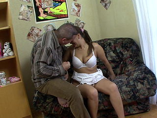 Sexy latina milf tempts stepbrother with the Devils doughnut