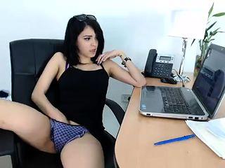 Hot Brunette Public Masturbation