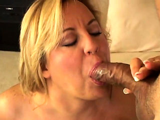 Cougar is caught masturbating and gets