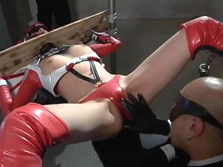 Armored heroine kinbaku domination angela 23