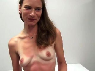 Czech girl can stop having orgasms