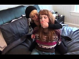Lesbian femdom domination spanking caning and intense orgasm