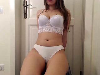 incredible lingerie on a solo tease girlhot latina