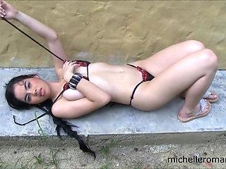 Michelle Black Bikini
