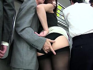 Sexy Asian babe with a sweet ass gets treated like a slut