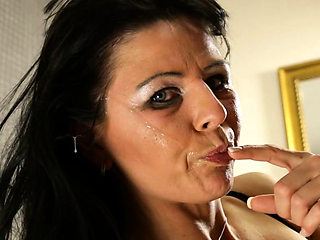 German mature mom hardcore deepthroat with big tits
