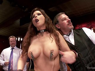 Sexy milf Syren De Mer likes rough group sex more than anything else