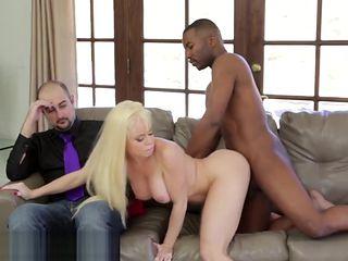 Nikki Delano Cuckold with Big Black Cock