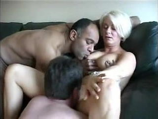 British Milf Julie Threesome Extended