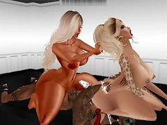 TWO ASS ONE DICK - IMVU