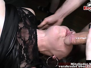 german creampie sexparty bareback huge cum inside loads