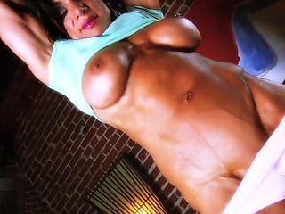 Female Bodybuilder Marina Lopez Hot & Hard Female Muscle