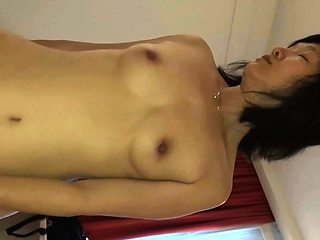 I fuck asian prostitute in front of my german blond girl