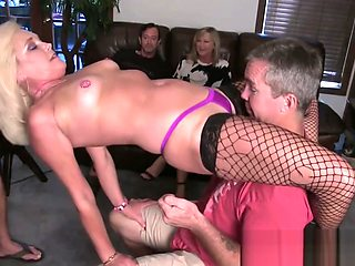 Birthday Party Orgy with a Stripper