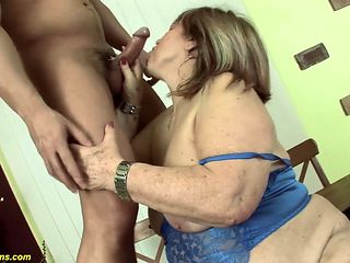 extreme ugly bbw mom deep fucked