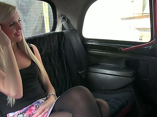 Super hot and beautiful Lexi rides the taxi once more and gets laid again