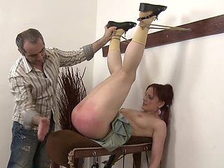 Spanked for being curious part 3