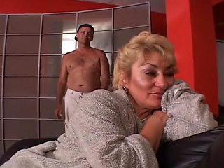 Busty Mature Granny Fucked In Her Butt