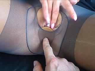 La Paay pantyhose creampie