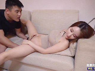 Chinese av drunk female neighbor