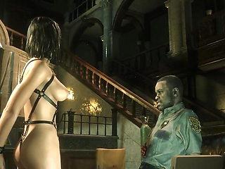Nude Sexy Claire 3D porno virt mode BDSM ('19) Escaped & Re