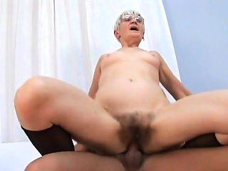 Kata is a naughty granny who is eager to bang