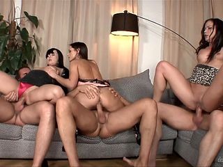Brunette Ally Styles and hot dude are so fucking horny in this cock sucking action