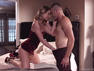 Cheating girlfriend Daisy Stone fucked by her BF's best friend