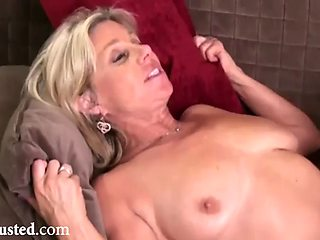 Mom son creampie time