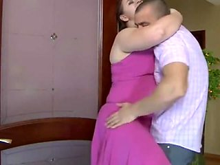 Bbw russian stepmom loves hard  anal creampie