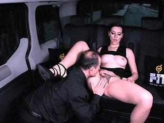 FUCKED IN TRAFFIC - Car sex with Ukrainian Sarah Highlight
