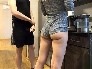 STEP SISTER CAUGHT PISSING HERSELF IN FRONT OF HER STEP BROTHER 3 TIMES