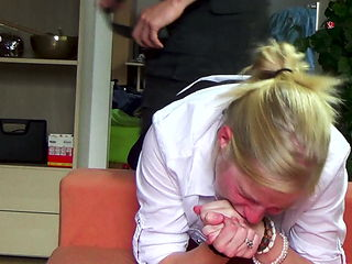 Clip 26Lil Extreme Belting in Secretary Dress