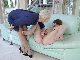 Helena Locke & Tommy Pistol & Luna Rival in Sexually Devious French Teen Gets Double Stuffed by Exchange Family - FamiliesTied
