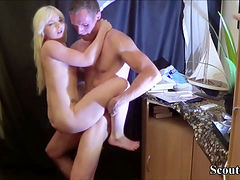 Bro Seduce Petite 18yo Old Step-sister To Anal Fuck