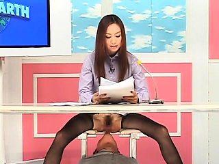 Stunning Oriental news ladies get their pussies devoured