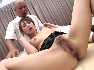 Crazy Japanese chick Anna Mizukawa in Amazing JAV uncensored Gangbang movie