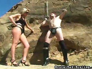 Classic Femdom Punishment