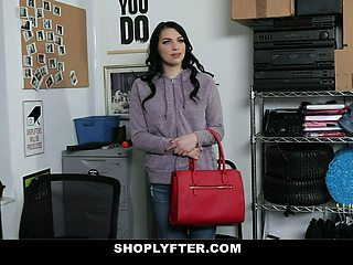 ShopLyfter - Hot Shoplifter Forced To Fuck Security
