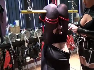 Amazing mistress Milking!