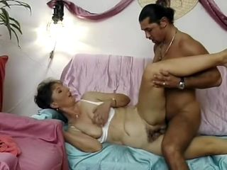 German housewife enjoys a big cock