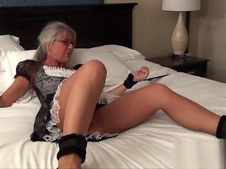 Spy Agent vs Mature Maid