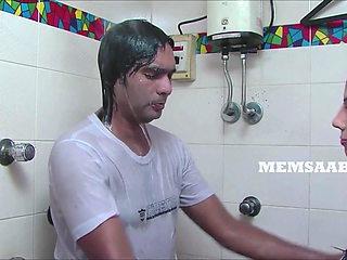 Desi naked shower