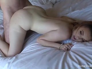 Full hardcore passion for the big booty doll with insane curves
