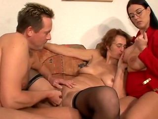 orgasm, initiation into the fist and with an enormous dildo